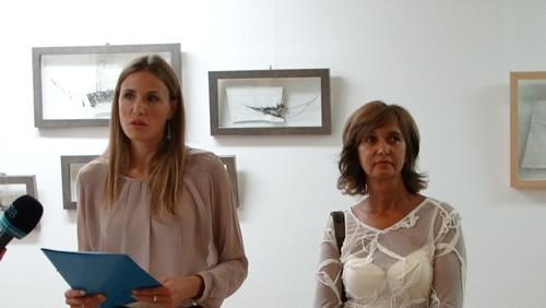 Otvaranje izlozbe Tijane Dujovic Liscevic