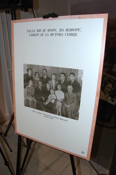 18 - Pano izložbe Svadbeni spomenar Paštrovića