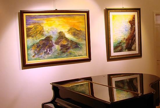 Moderna galerija Budva - Izlozba Rajke Kujundzijevic - 1