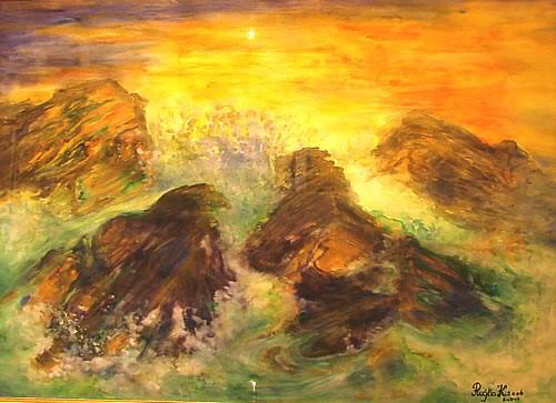 Moderna galerija Budva - Izlozba Rajke Kujundzijevic - 4