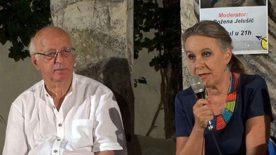 Zuvdija Hodzic i Bozena Jelusic
