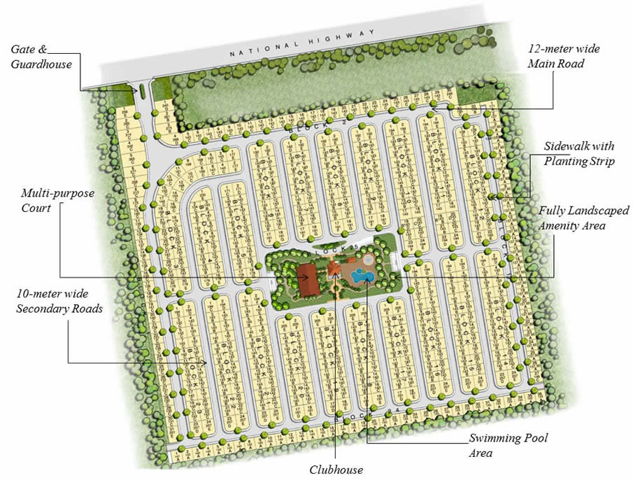 filinvest site development plan