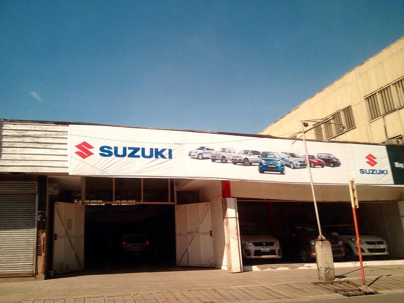 suzuki butuan showroom
