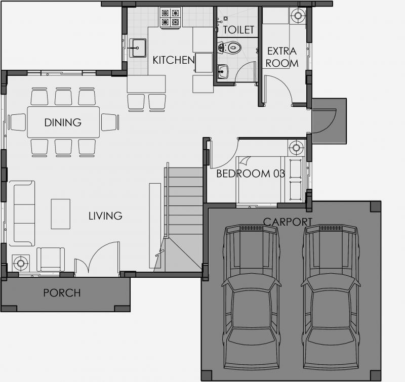 greta 1st floor plan