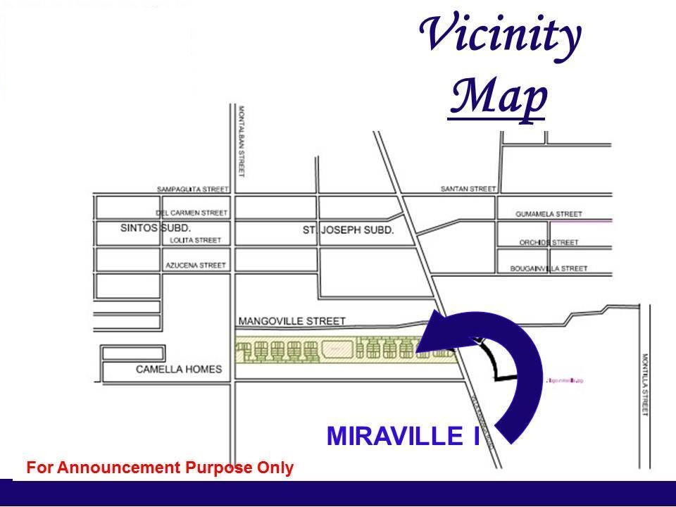 miravilla homes butuan vicinity map