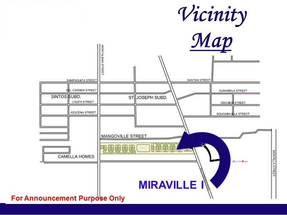 miravilla homes butuan vicinity map