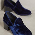 Jeffery Cambell velvet shoes