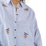 Floral embroidered shirt from Nordstrom