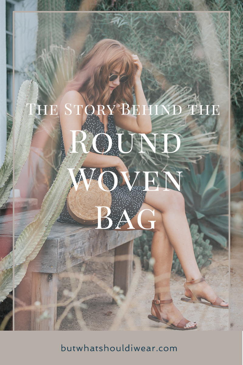 The Story behind the trending woven round purse - Trending for Fall - by @Allisonnkelleyy