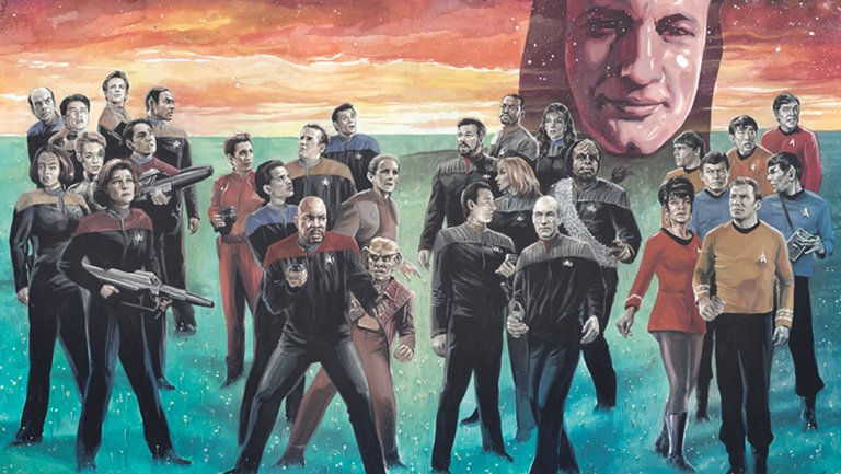 Star Trek: The Q Conflict #1