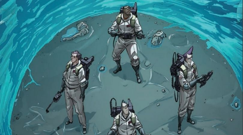 Ghostbusters 35th Anniversary Ghostbusters #1 - But Why Tho