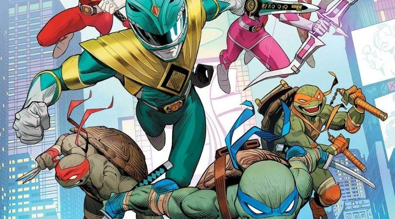 Mighty Morphin Power Rangers/Teenage Mutant Ninja Turtles #2