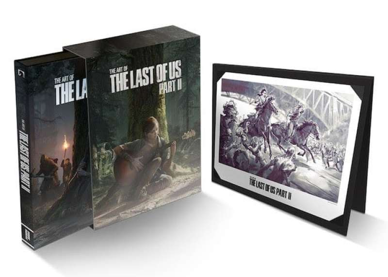 The Art of The Last of Us Part II Deluxe Edition