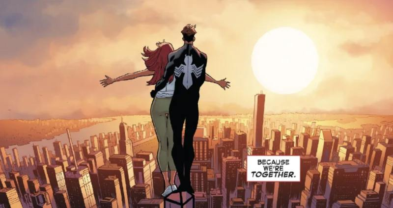 Spider-Man and MJ top couples in comics