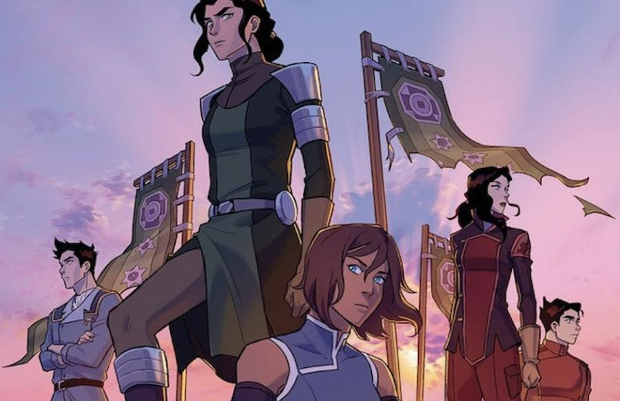 The Legend of Korra: Ruins of the Empire turf wars