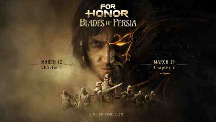 For Honor Prince of Persia 1