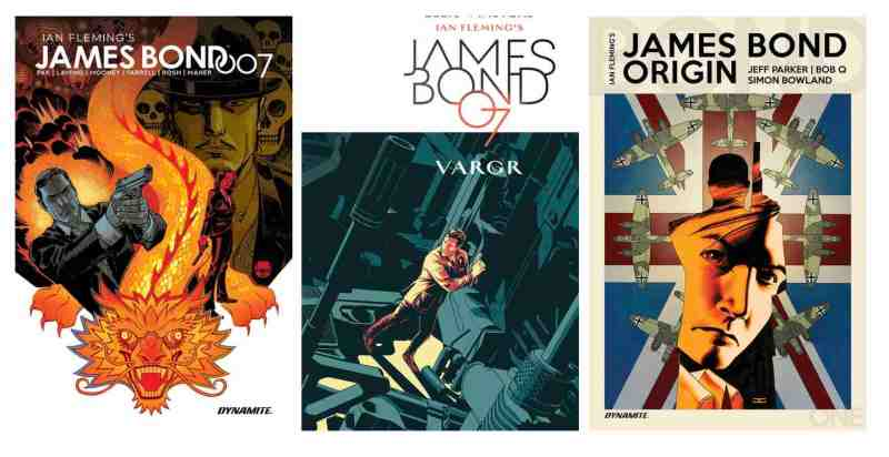 Dynamite has teamed with Humble Bundle to offer the most comprehensive collection of James Bond comics as a digital bundle sale.
