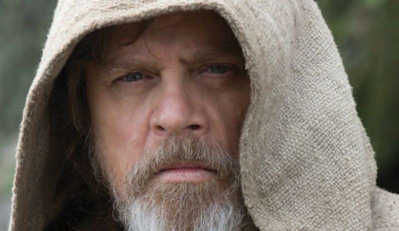 Jedi Master Luke Skywalker in isolation.