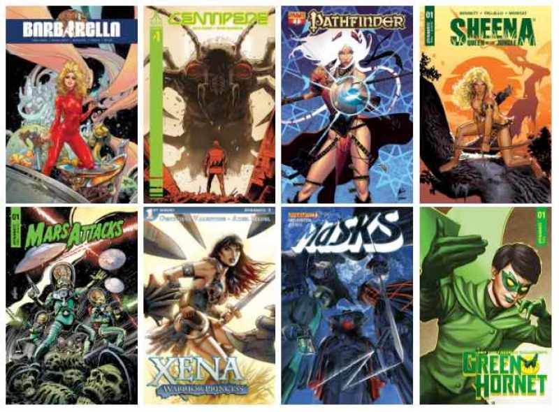 Dynamite & ComiXology! Wave Two Unveiled