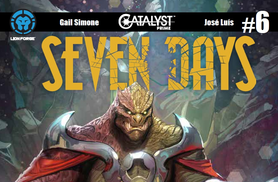 Catalyst Prime: Seven Days #6 cover