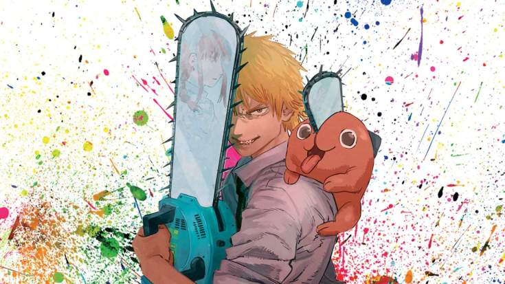 Shonen Jump chainsaw Man