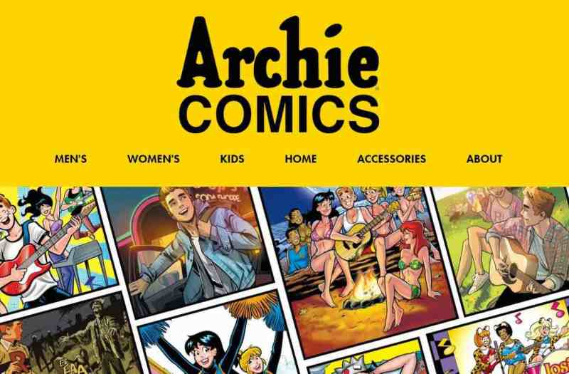 Archie Comics and Threadless debut new apparel designs