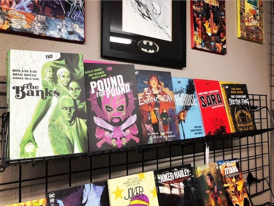 TKO Local Comic Book Shop