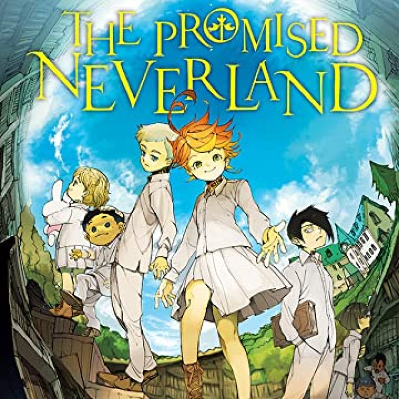 ComiXology Cover Promised Neverland