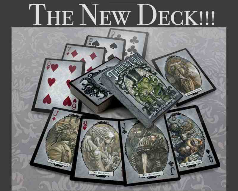 The Thornclaw Manor Illustrated Poker Deck and Art Book 1