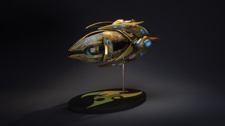 StarCraft: Protoss Carrier Replica