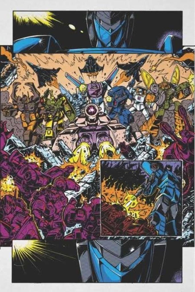 Transformers 84 Secrets & Lies #1 Panel