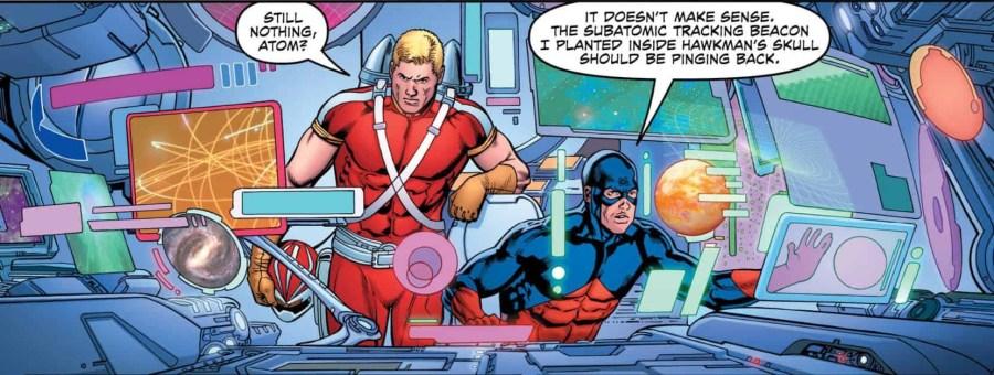 Hawkman #26 image panel