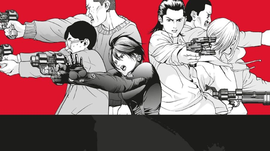 horror manga - gantz