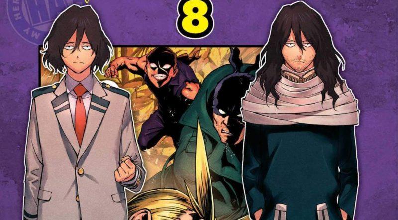 My Hero Academia: Vigilantes Volume 8