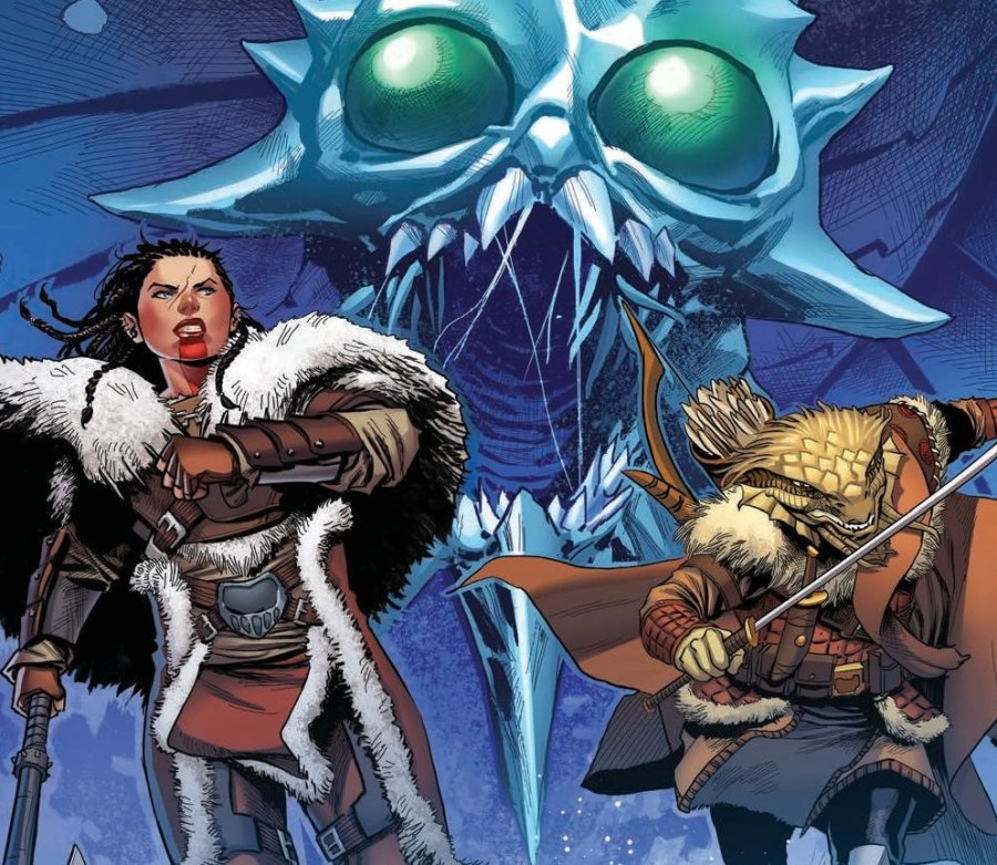 Dungeons & Dragons: At the Spine of the World #1