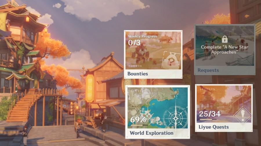 Genshin Impact Update 1.1