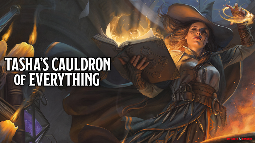 The official art for Tashas Cauldron of Everything