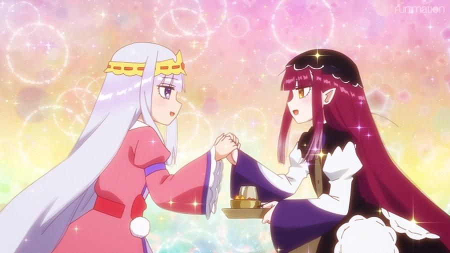Princess Syalis meets Cubey, a succubus who looks awfully similar...