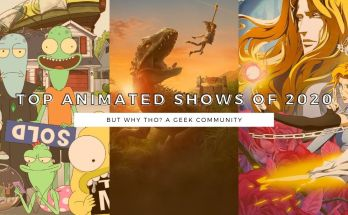 Top Animated Shows of 2020