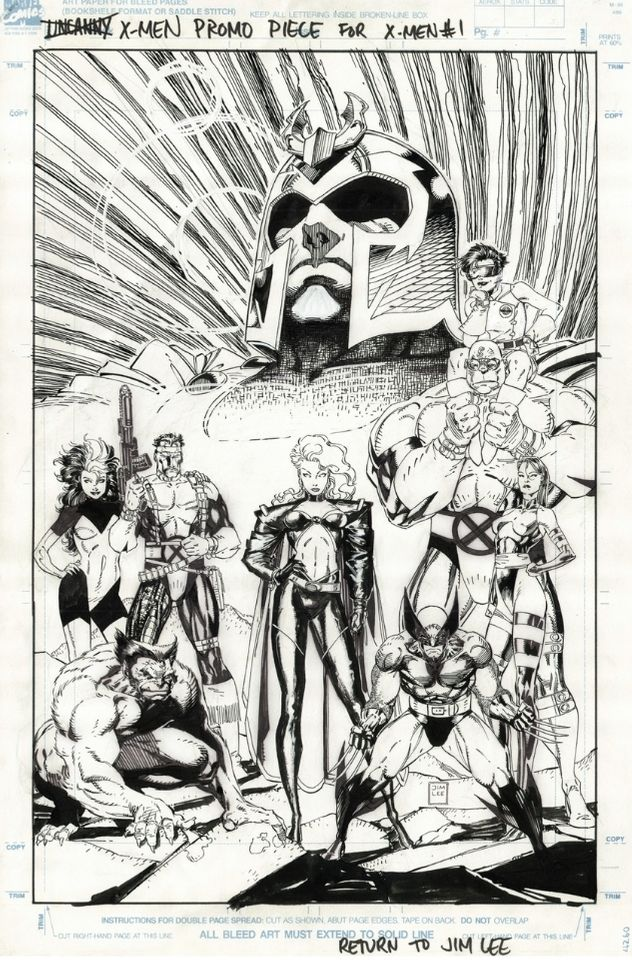 Jim Lee's X-Men