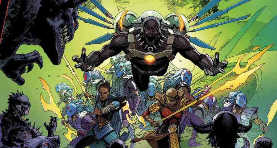 King in Black Black Panther #1 - But Why Tho?