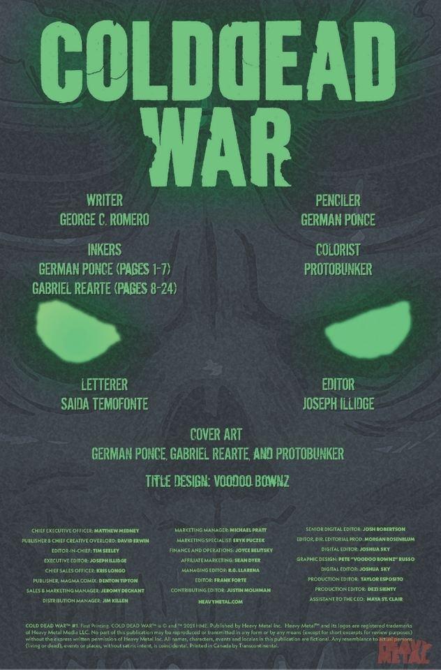 Cold Dead War #1
