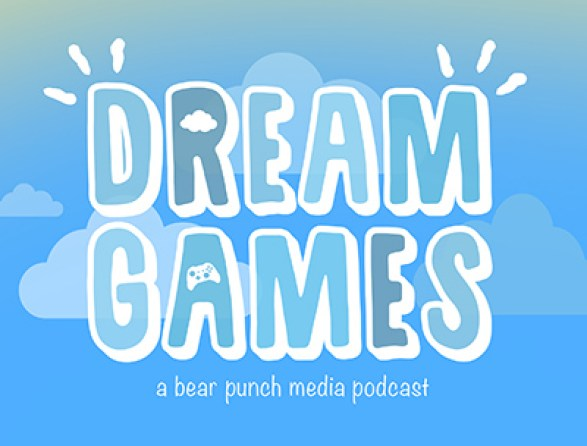 Dream Games - A Bear Punch Media Podcast Logo