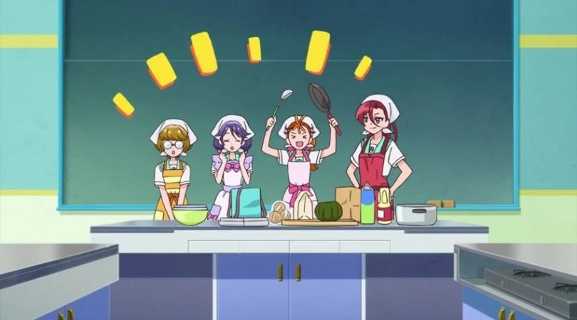 """Tropical-Rouge PreCure Episode 8 - """"Makeup is Magic? Get Tropical with Movie!"""""""