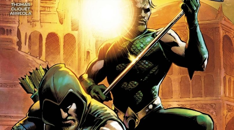 October 2021 DC Comics - Aquaman Green Arrow Deep Target #1 - But Why Tho
