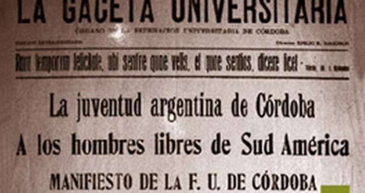 De 1918 a 2018: la Reforma Universitaria en clave de época