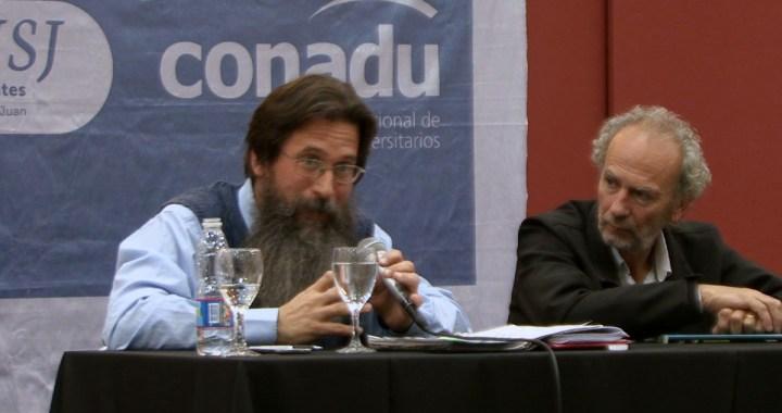 """1918-2018: Reforma Universitaria. Eduardo Rinesi: """"hay que meter adentro a los que se quedaron afuera"""