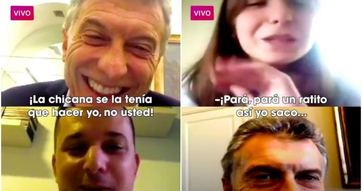 En medio de la tormenta, Macri millenians intenta mostrarse cercano a la gente por Instagram