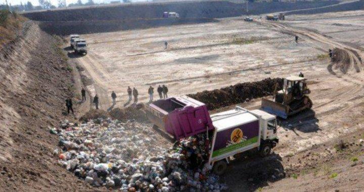 Tras las denuncias por contaminación ambiental, realizaron la inspección ocular en el vertedero San Javier