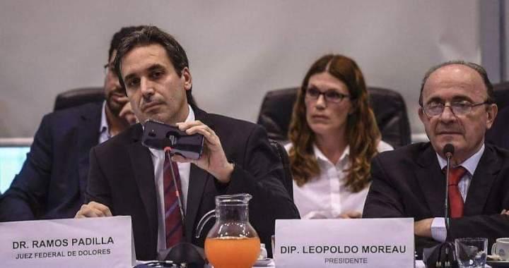"Ramos Padilla denunció una red de espionaje ""para-estatal"" de grandes magnitudes"